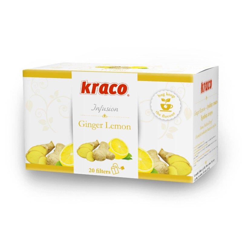 Ginger & Lemon flavoured infusion