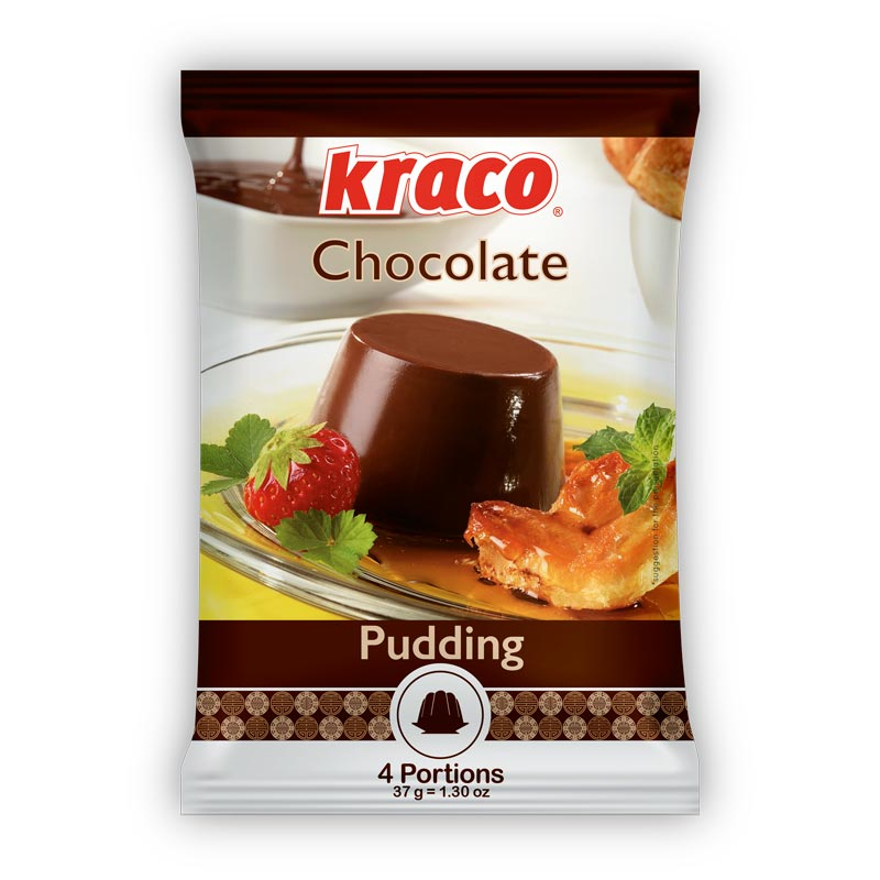 Instant preparation for chocolate taste pudding