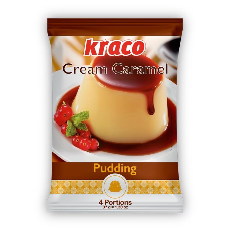 Instant preparation for Crème Caramel taste pudding