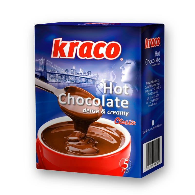 Hot chocolate dense & cream (classic)