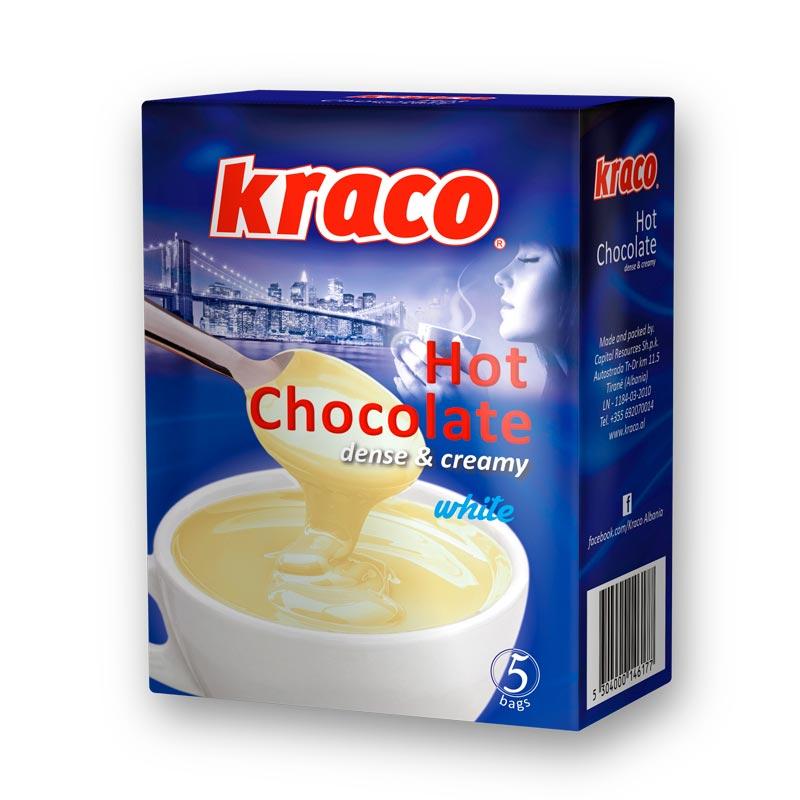 Hot chocolate dense & cream (white)