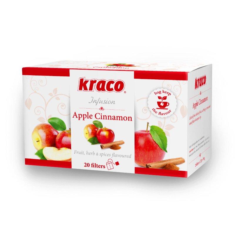 Apple Cinnamon flavoured herbal infusion