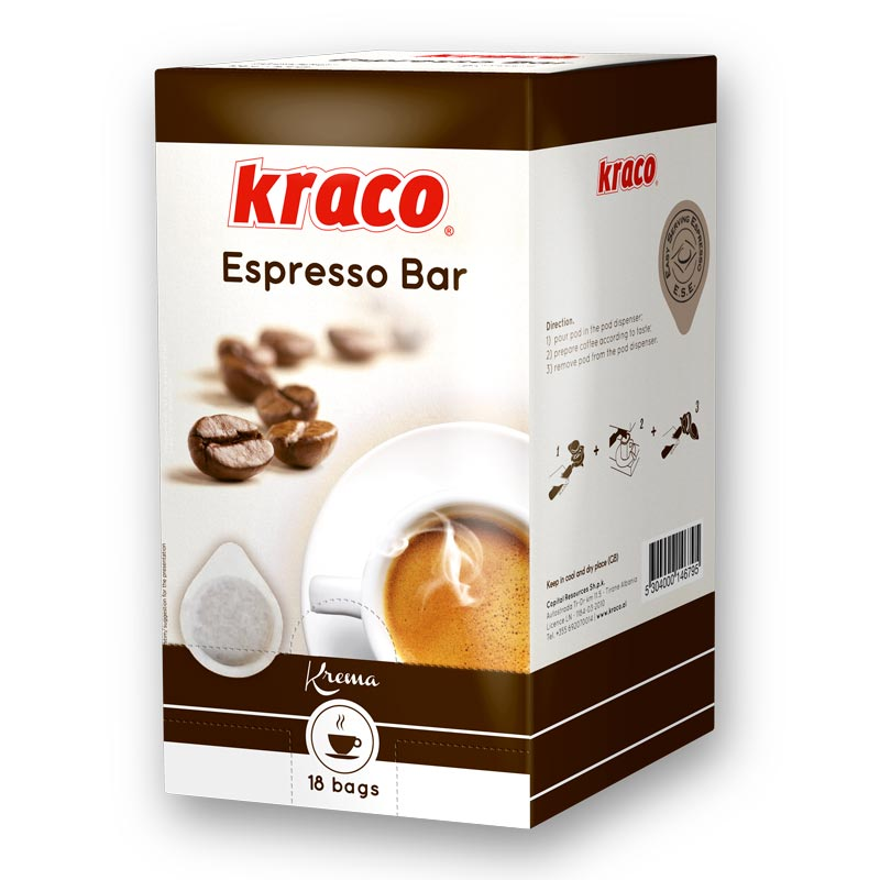Kraco Coffe Pods Espresso Bar