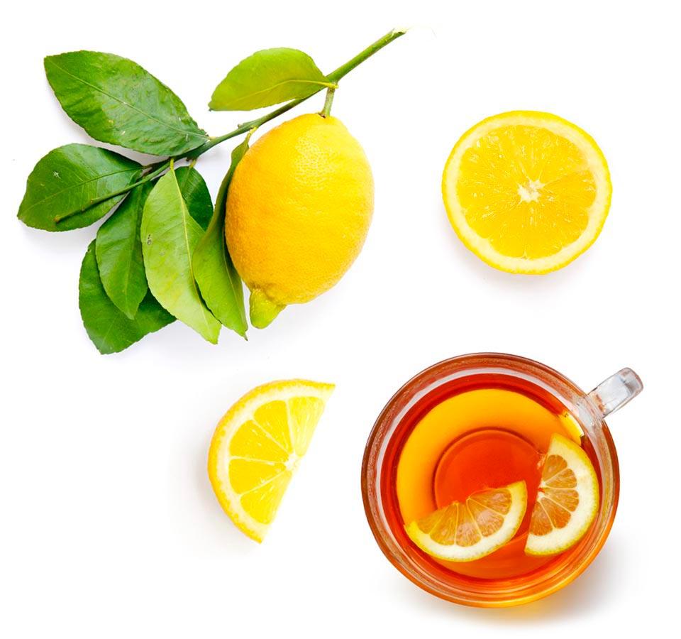 Hot Instant Lemon Tea