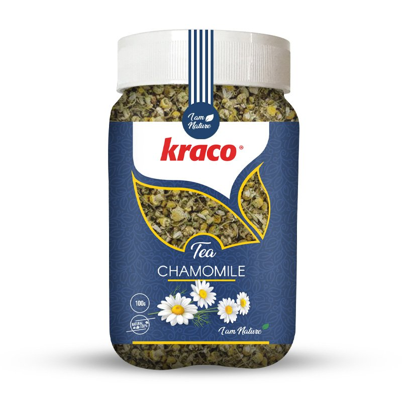 Chamomile flavoured infusion