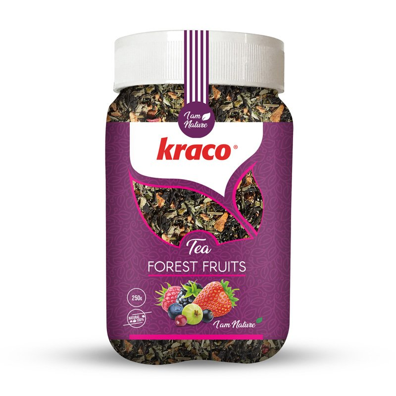 Mixed forest fruit flavoured infusion