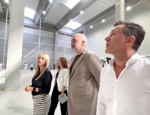 """The Prime Minister of Albania, Mr. EDI RAMA visited the new production plant of """"KRACO"""" Company."""