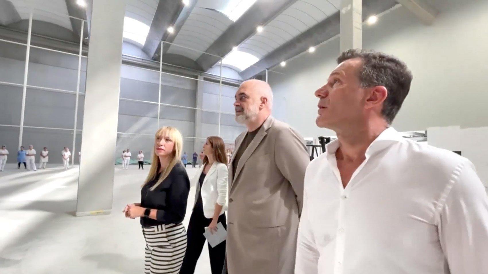 Prime Minister Rama Visiting Kraco